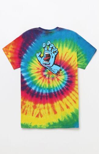 Screaming Hand Tie-Dye T-Shirt