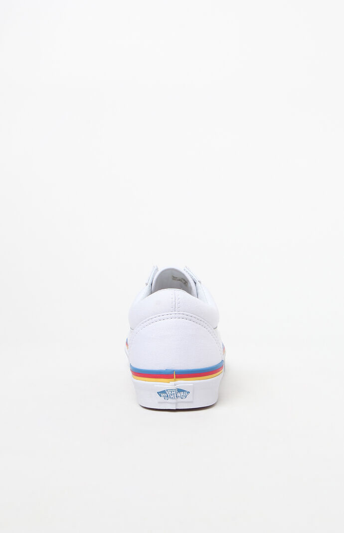 48889b44014 Women  39 s Rainbow Foxing Old Skool Sneakers