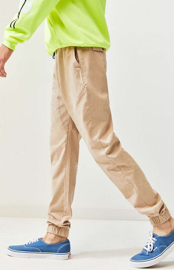 Tan Sureshot Jogger Pants