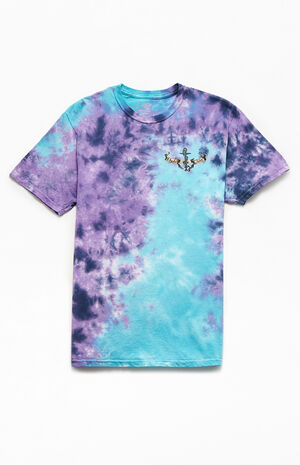 Tuna Lighthouse Tie Dyed T-Shirt image number null