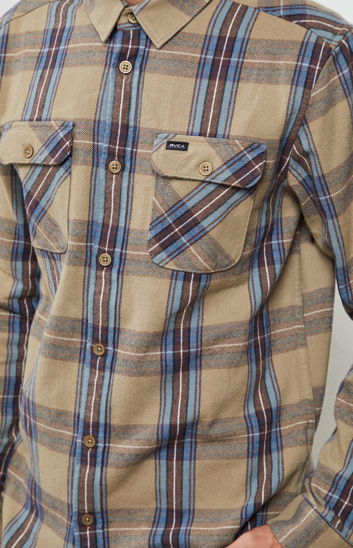 Reverberation Button Up Flannel Shirt
