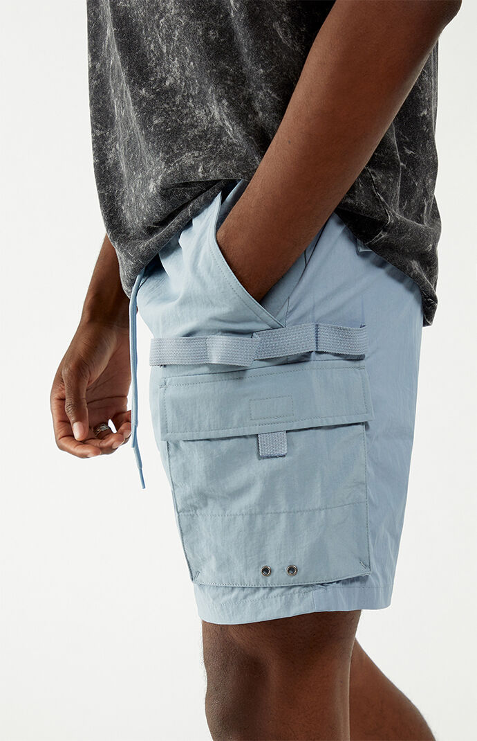Leif Military Nylon Shorts