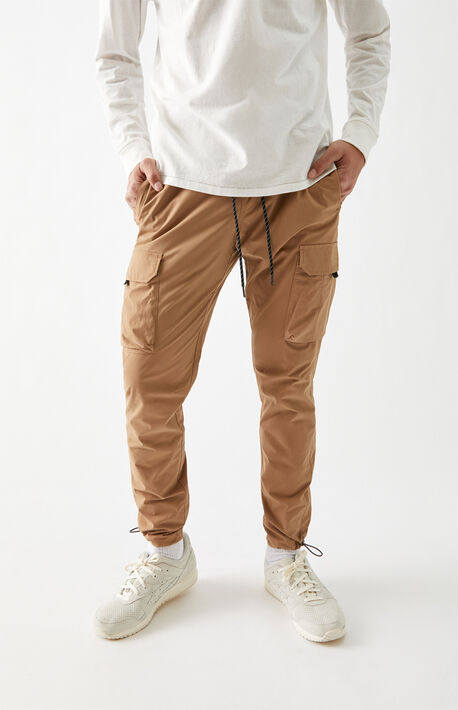 Benton Nylon Slim Cargo Pants