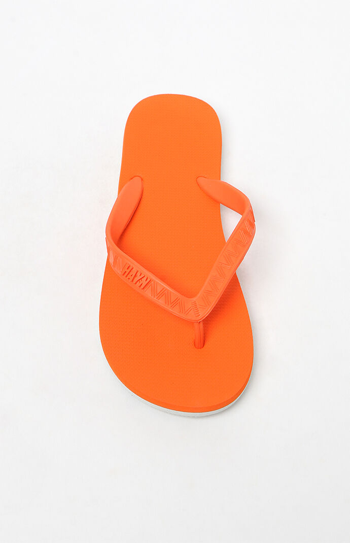 3a8c3d325e50 Hayn Passion Orange Flip Flops at PacSun.com