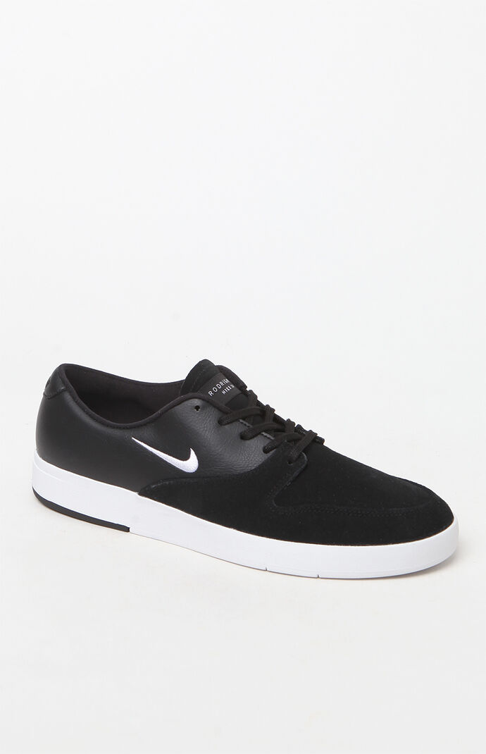43183848e3af Nike SB Zoom Paul Rodriguez Ten Black and White Shoes at PacSun.com