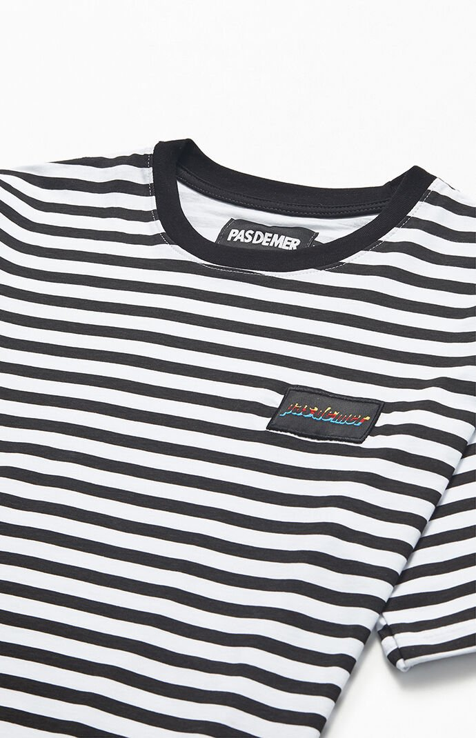 Striped Holiday T-Shirt