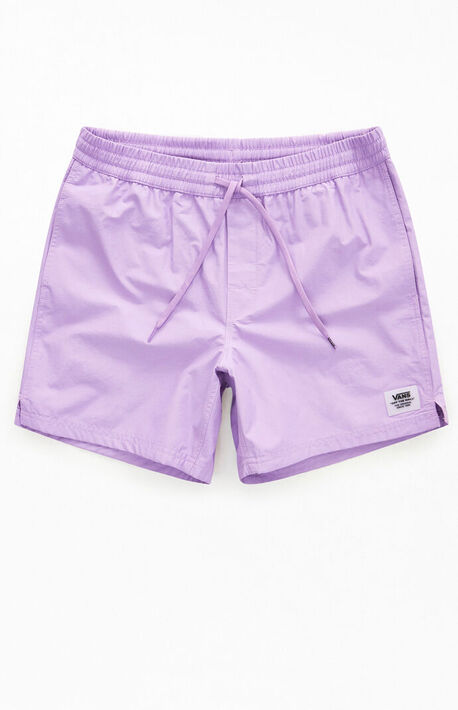 Purple Primary Volley Shorts