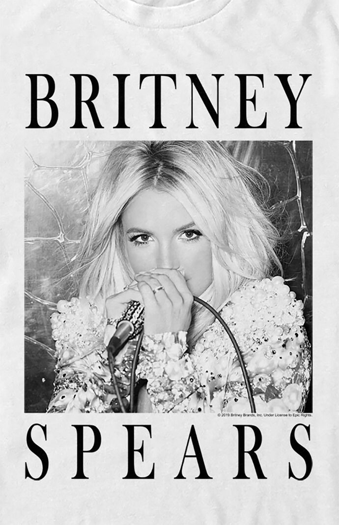Britney Spears Portrait T-Shirt