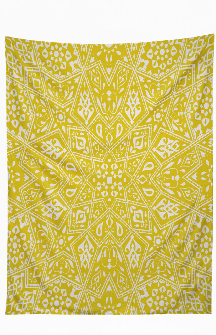 Amirah Yellow Tapestry