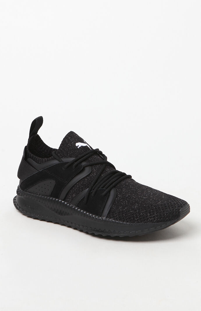 Puma Mens Tsugi Blaze evoKNIT Black Training Shoes - Black Shadow 6511109
