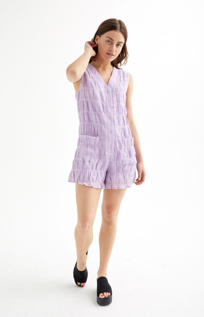 Sireli Button Down Romper