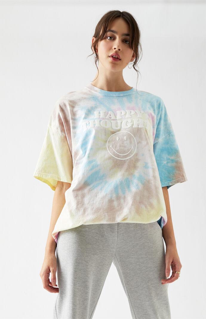 x Desert Dreamer Happy Thoughts Oversized T-Shirt