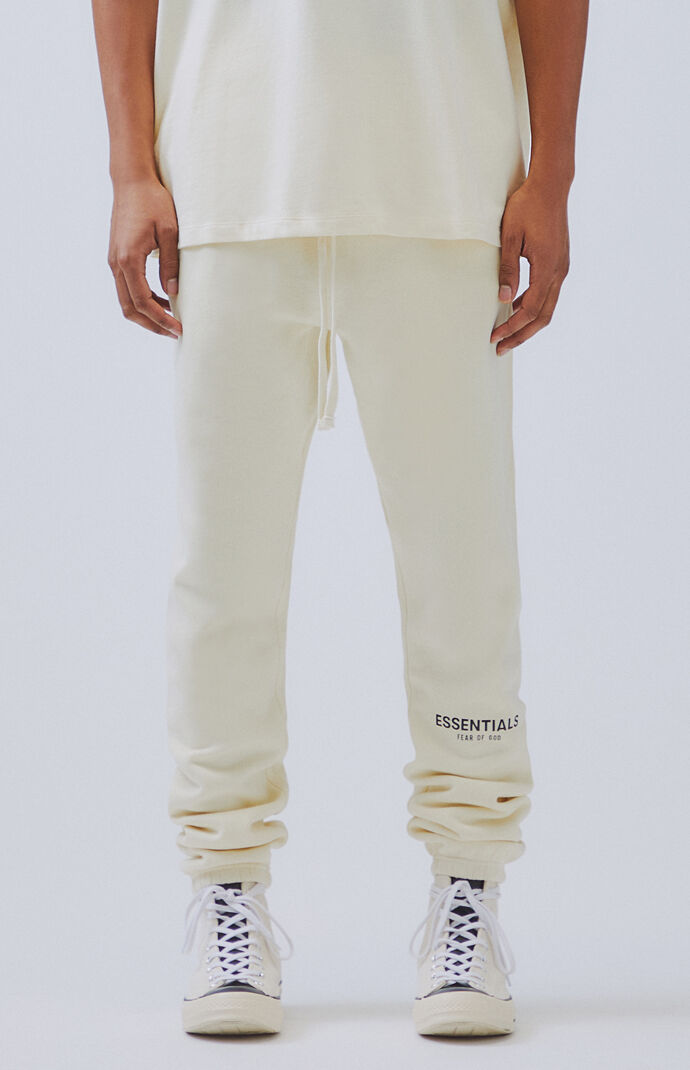 Essentials FOG Fear of God Men's Cotton Joggers Heather Grey