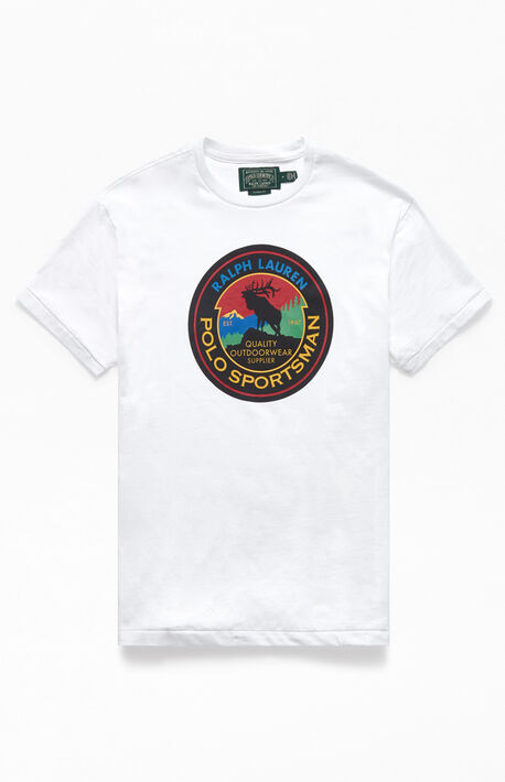 White Sportsman T-Shirt