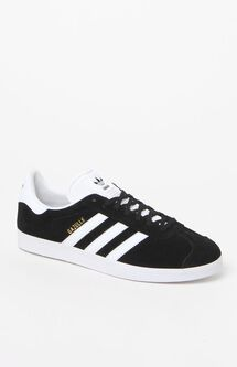 Gazelle Black & White Shoes