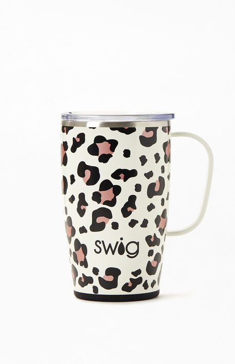 Luxy Leopard 18 oz. Travel Mug