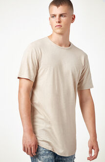 All Day Linen Scallop T-Shirt