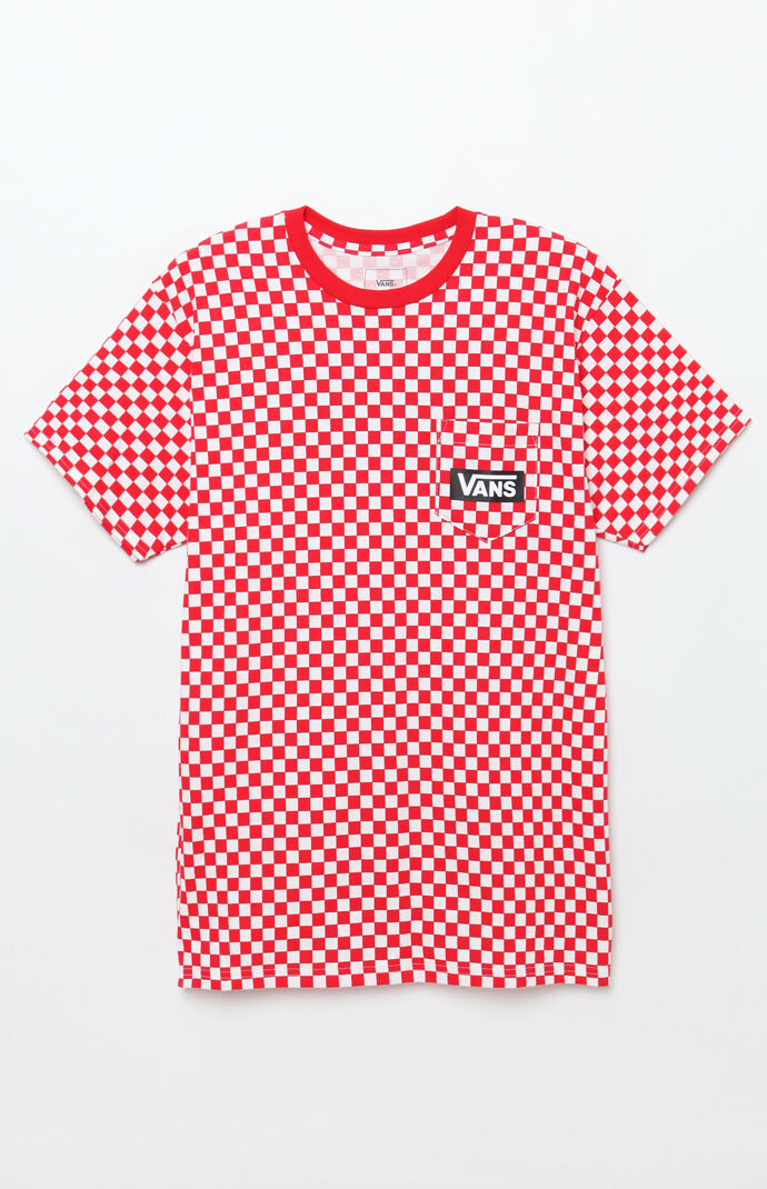 ec4de2d3afd Vans Checker Pocket T-Shirt