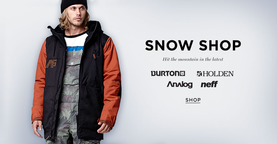 Mens Snow Shop