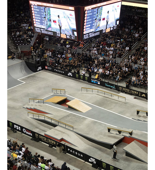 Street League Skateboarding 2016 SLS Super Crown World Championships LA Slide 5