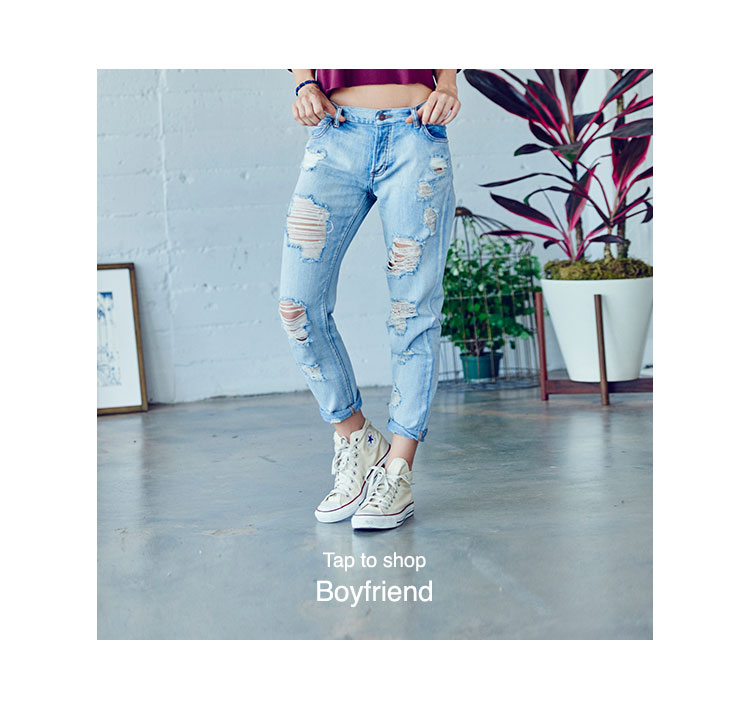 PacSun Womens Denim Fits - boyfriend