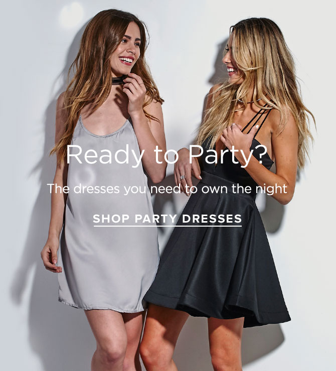 Womens Party Dresses - New Year's Capsule