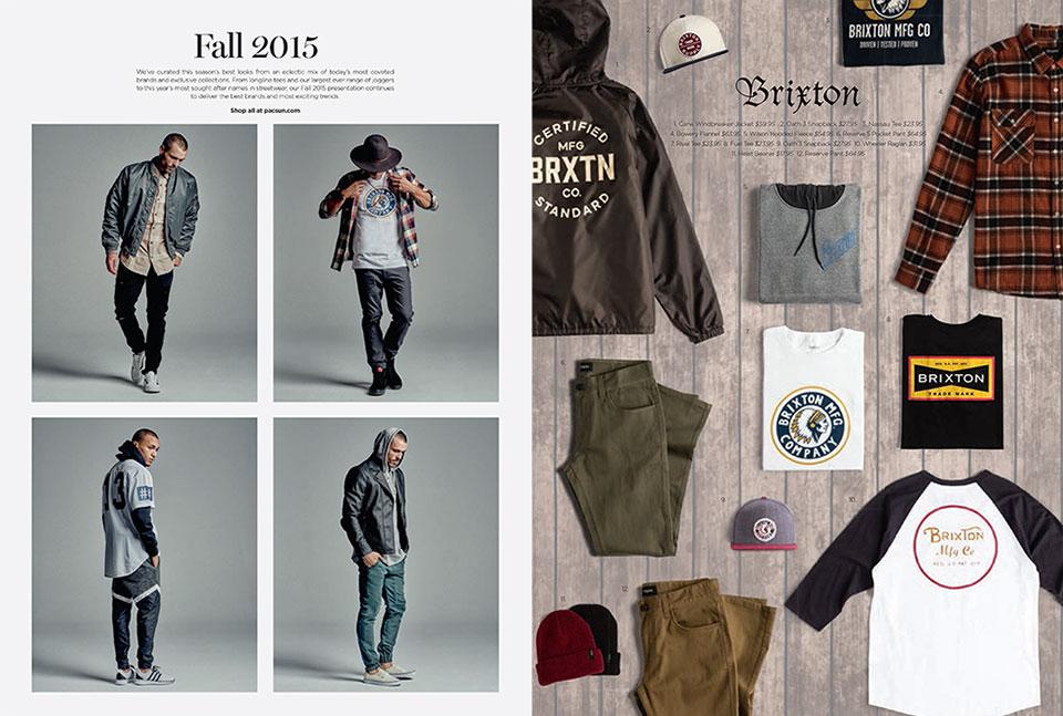 PacSun 2015 Fall Catalog Page 1