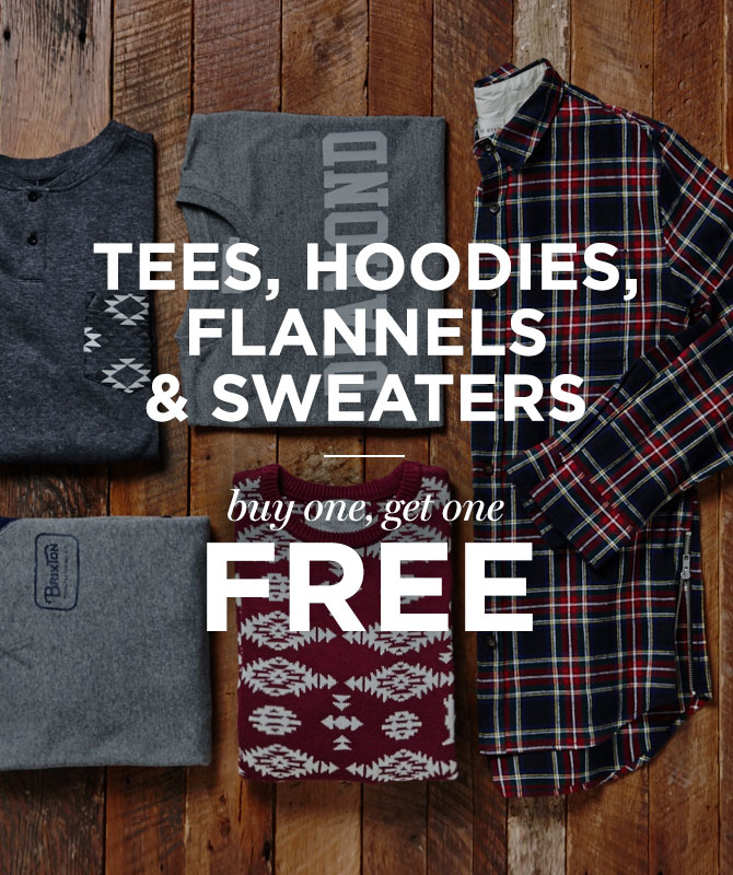 Mens BOGO Free Categories