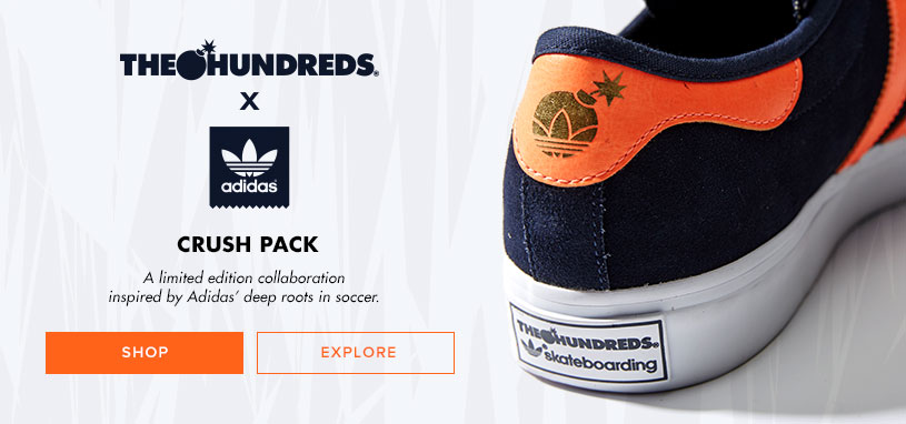 Mens Adidas x Hundreds