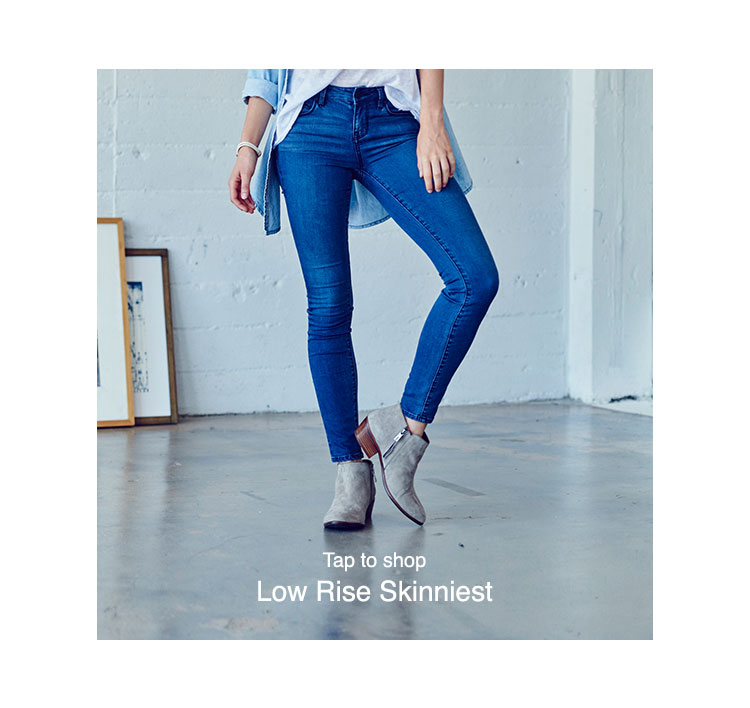PacSun Womens Denim Fits - low-rise-skinniest