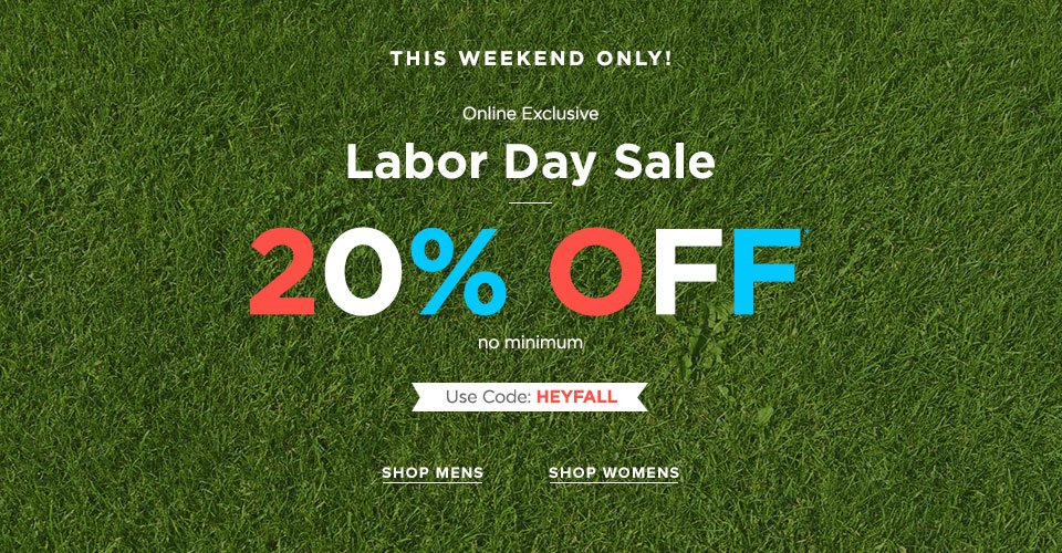 Womens Labor Day Sale