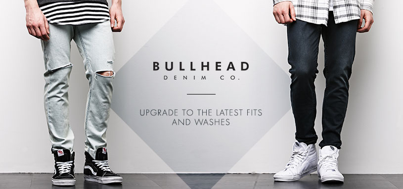 Mens Bullhead Denim