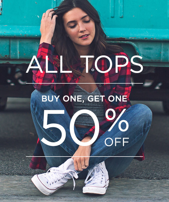 Women's tops BOGO 50%
