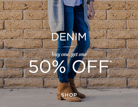 Womens Denim BOGO 50