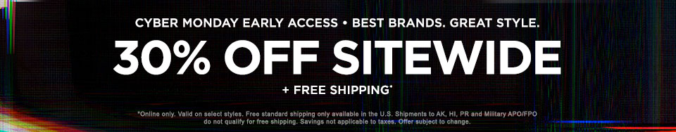 Cyber Monday early: 30% off