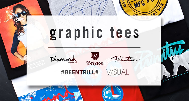 Mens Graphic Tees: emerging
