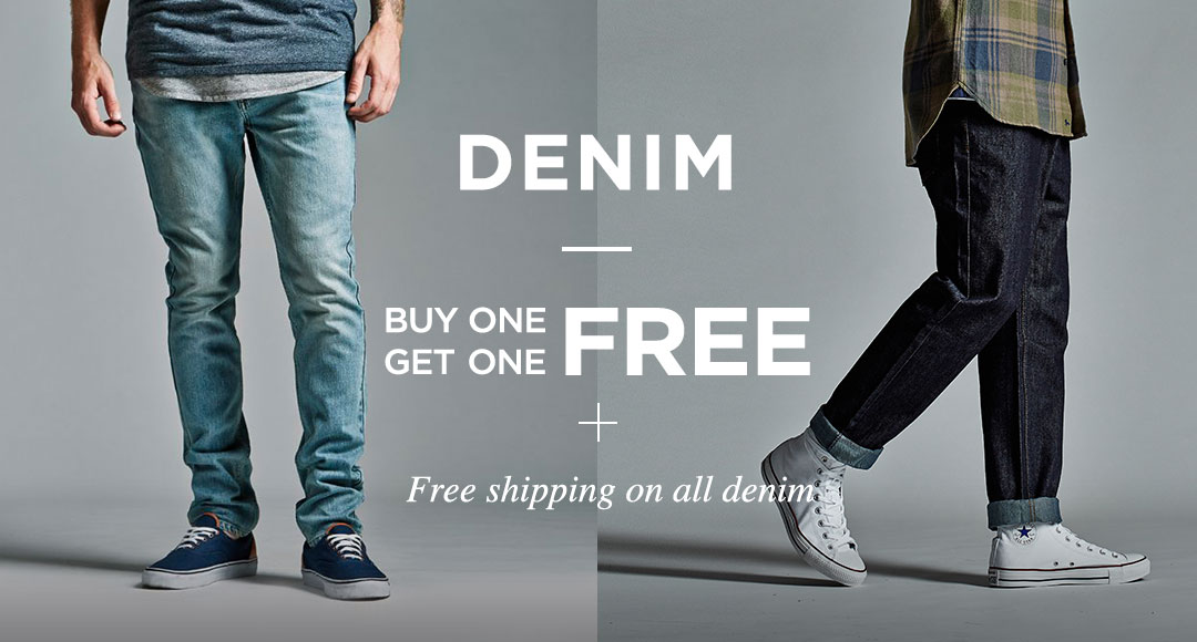 Denim BOGO Free + Free shipping