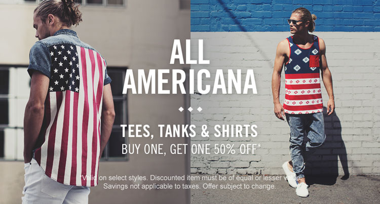 Mens Americana - Wovens & tanks