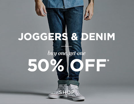 Men's Denim BOGO 50%