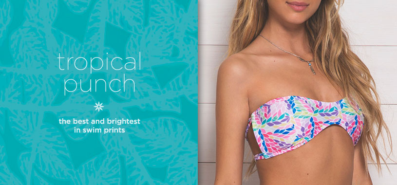 Womens swim prints