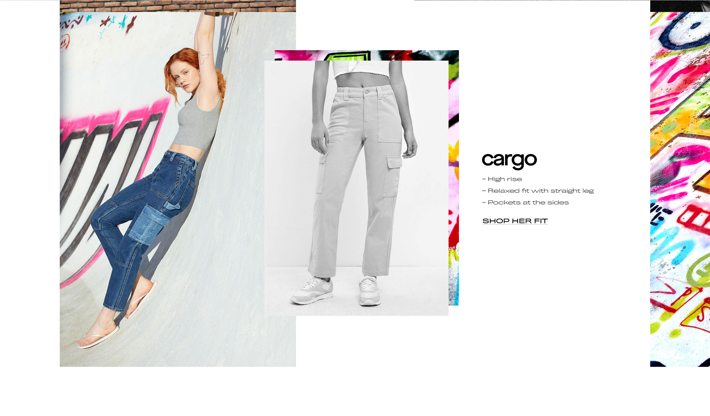 shop womens cargo fit