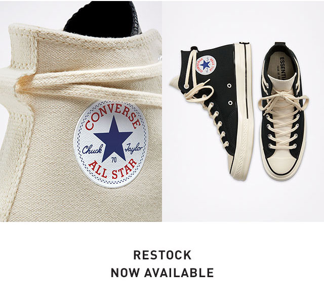 FOG X Converse - Restock Now Available
