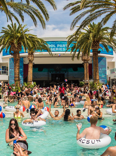 Pool Party Series Drais Beach Club Photo Recap