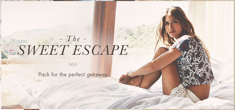 Womens Sweet Escape Lookbook