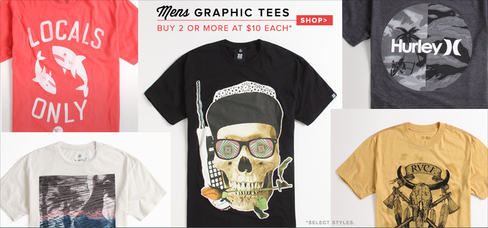 Graphic Tees on sale