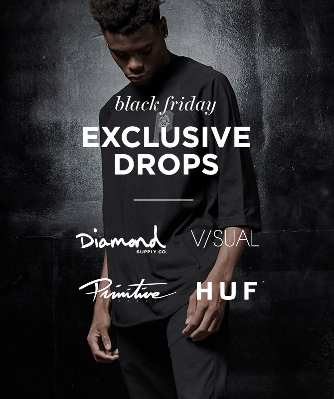 Mens Diamond, HUF, Prim, Visual, Y&R