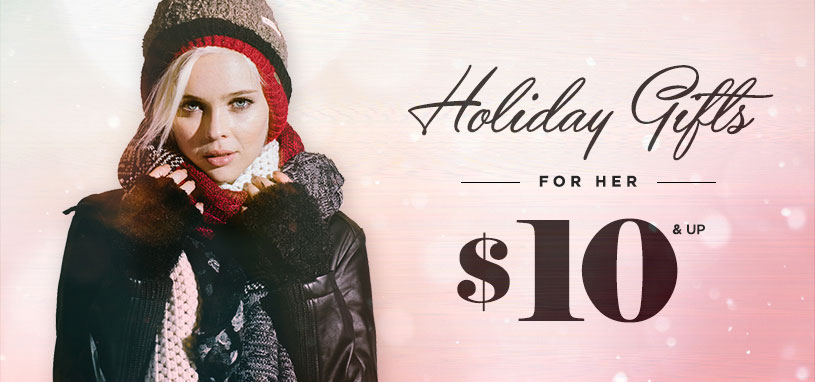 Womens Gifts starting at $10