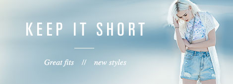 Womens New Shorts