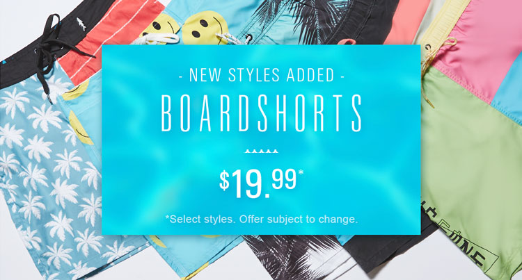 Mens Pool Party Boardshorts
