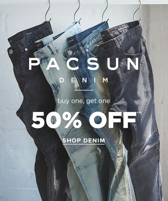 Mens Denim Range BOGO 50